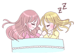 Best friend Serina & Yuri sticker #9639687