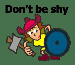 Lady Viking sticker #9655117