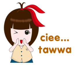 Cewek Makassar sticker #9655594