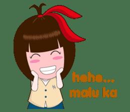 Cewek Makassar sticker #9655609