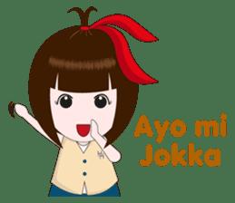 Cewek Makassar sticker #9655620