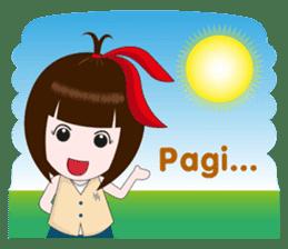 Cewek Makassar sticker #9655622