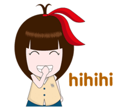 Cewek Makassar sticker #9655627