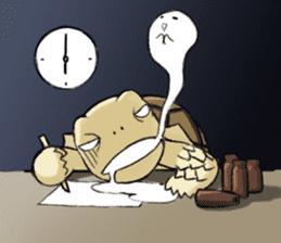 Tortoise diary - Part.3 sticker #9656110