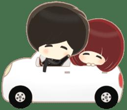 lovely couple sticker sticker #9667361