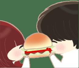 lovely couple sticker sticker #9667371
