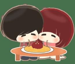 lovely couple sticker sticker #9667387
