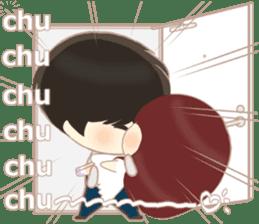 lovely couple sticker sticker #9667391