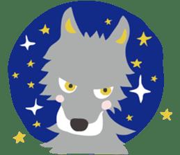 animals of asahiyama sticker #9671306