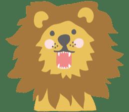 animals of asahiyama sticker #9671310