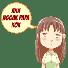 Cewek Sensi sticker #9686664