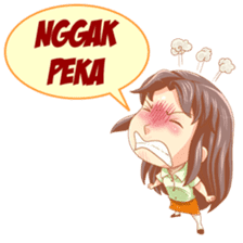 Cewek Sensi sticker #9686693