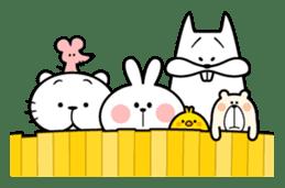 Spoiled Rabbit 5 sticker #9687216