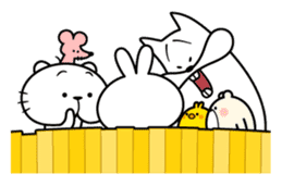 Spoiled Rabbit 5 sticker #9687219