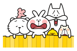 Spoiled Rabbit 5 sticker #9687221