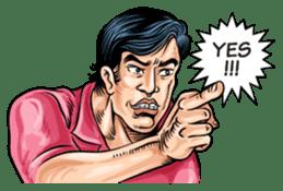 Thai Comics 1 baht(English Ver.) sticker #9700701