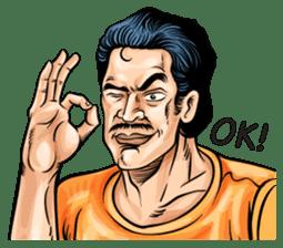 Thai Comics 1 baht(English Ver.) sticker #9700714