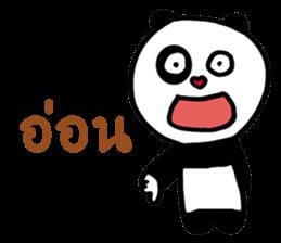 Thug Panda Life By Crazymaymay Sticker 9707413
