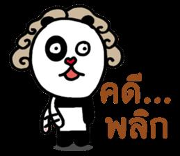 Thug Panda Life By Crazymaymay Sticker 9707421