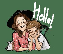 Smolers (Baby - Boo love story) sticker #9710088