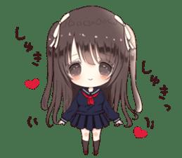 Milk, The Cute Junior High School Girl5 sticker #9715872