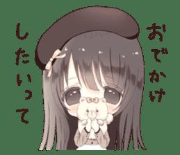 Milk, The Cute Junior High School Girl5 sticker #9715878