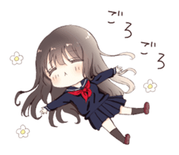 Milk, The Cute Junior High School Girl5 sticker #9715879
