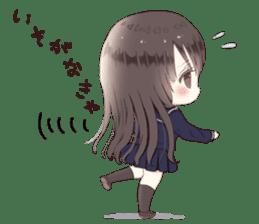 Milk, The Cute Junior High School Girl5 sticker #9715880