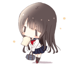 Milk, The Cute Junior High School Girl5 sticker #9715881