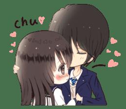 Milk, The Cute Junior High School Girl5 sticker #9715891