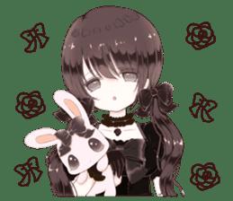Milk, The Cute Junior High School Girl5 sticker #9715909