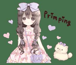 Milk, The Cute Junior High School Girl5 sticker #9715910