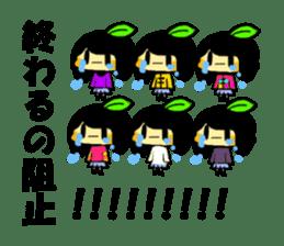 citrus girls sticker(idol fun) sticker #9728824