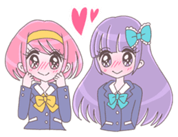 Best friend Momoka & Kanade sticker #9735060
