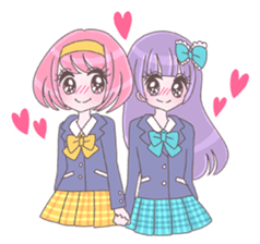 Best friend Momoka & Kanade sticker #9735063