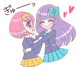 Best friend Momoka & Kanade sticker #9735065