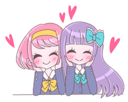 Best friend Momoka & Kanade sticker #9735066