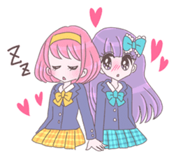 Best friend Momoka & Kanade sticker #9735069