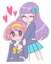 Best friend Momoka & Kanade sticker #9735070