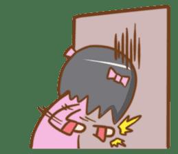"Spoiled girl ""Amae"" Sticker sticker #9736929"