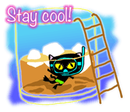 jazz cat sticker #9742731