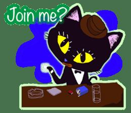 jazz cat sticker #9742734