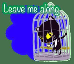 jazz cat sticker #9742735