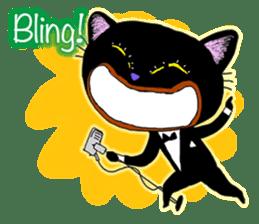 jazz cat sticker #9742736