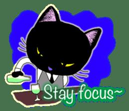 jazz cat sticker #9742738