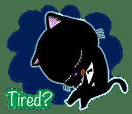 jazz cat sticker #9742739