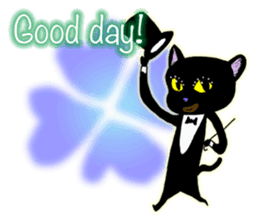 jazz cat sticker #9742740