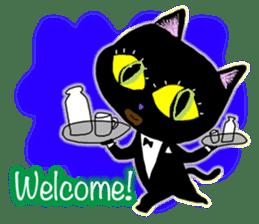 jazz cat sticker #9742741