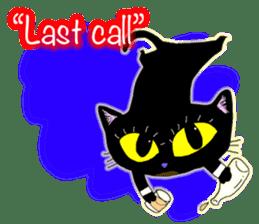 jazz cat sticker #9742743