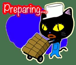 jazz cat sticker #9742745